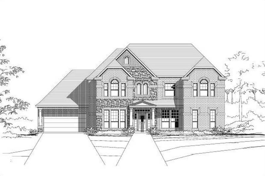 Main image for house plan # 15620