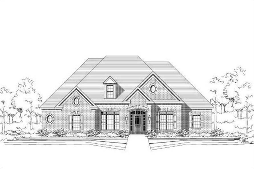Main image for house plan # 15678