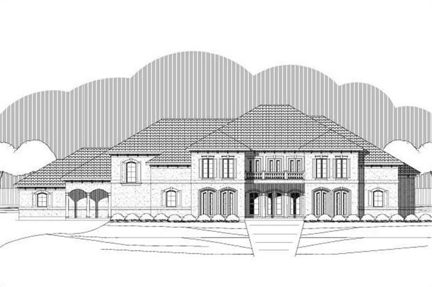 Main image for house plan # 19452