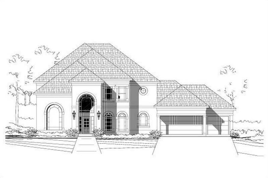 Main image for house plan # 15497