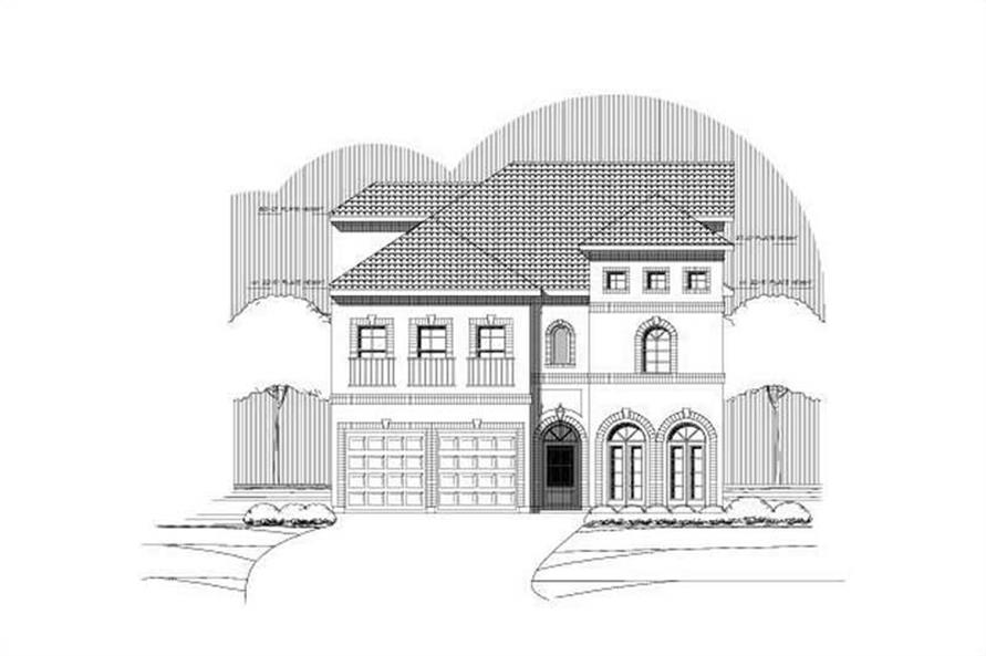 Main image for house plan # 15542