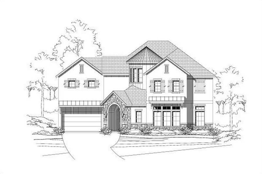 Main image for house plan # 19586