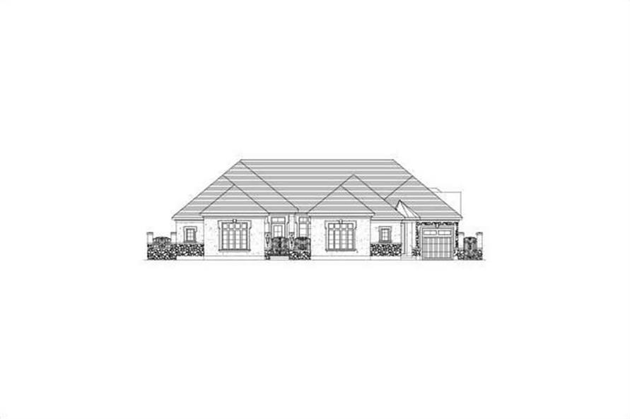 Main image for house plan # 15847