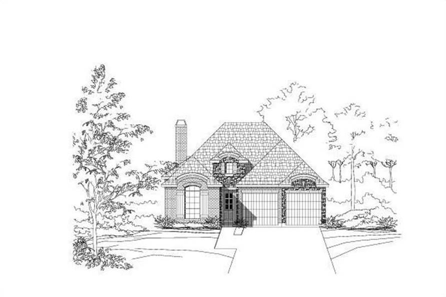 Main image for house plan # 19627