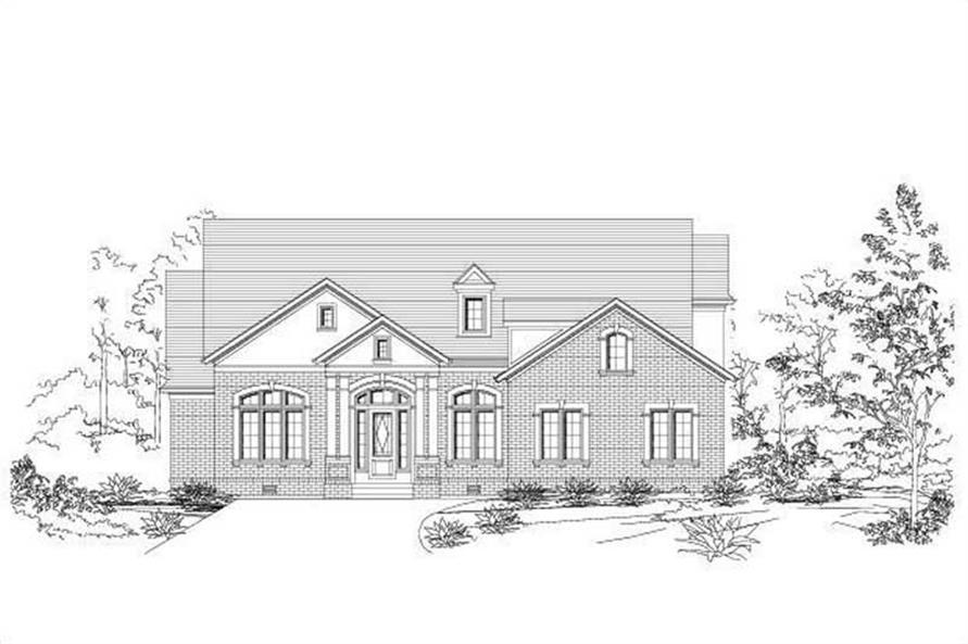 Main image for house plan # 19632