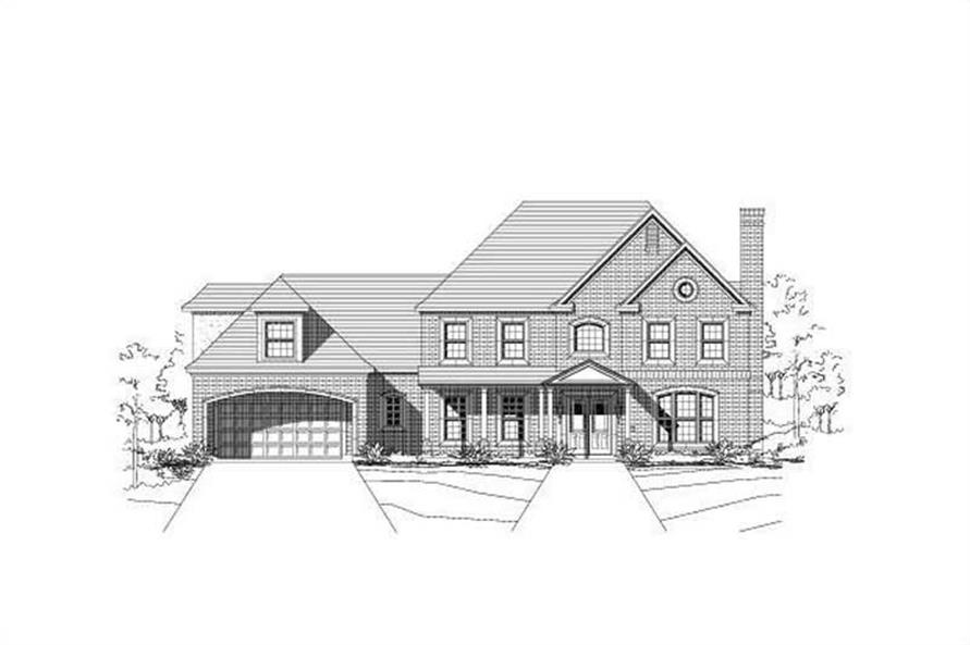 Main image for house plan # 15692