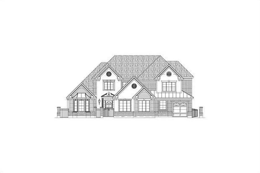 Main image for house plan # 15698