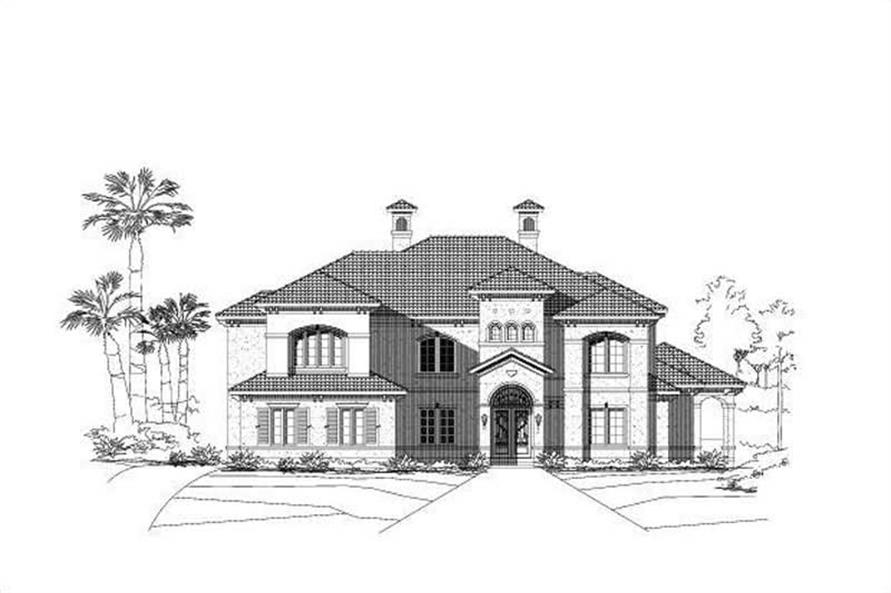 Main image for house plan # 15831