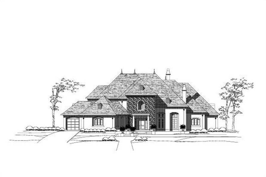 Main image for house plan # 15837