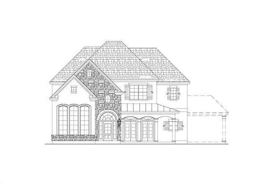 Main image for house plan # 15467