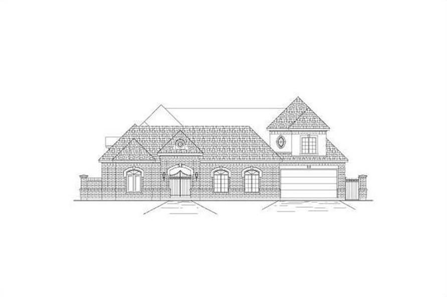 Main image for house plan # 15664
