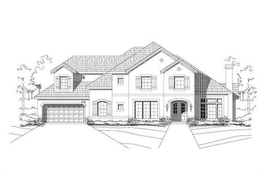Main image for house plan # 15665