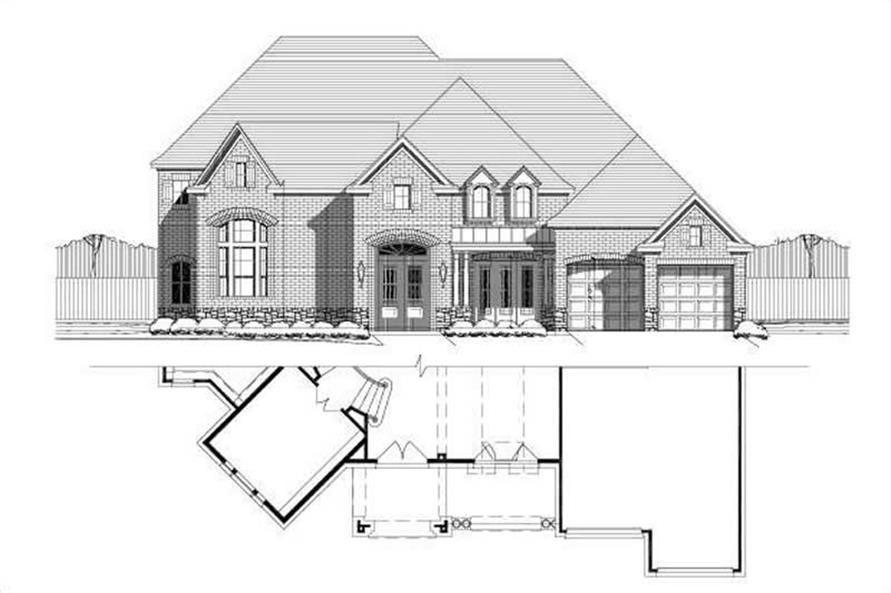 Main image for house plan # 15640