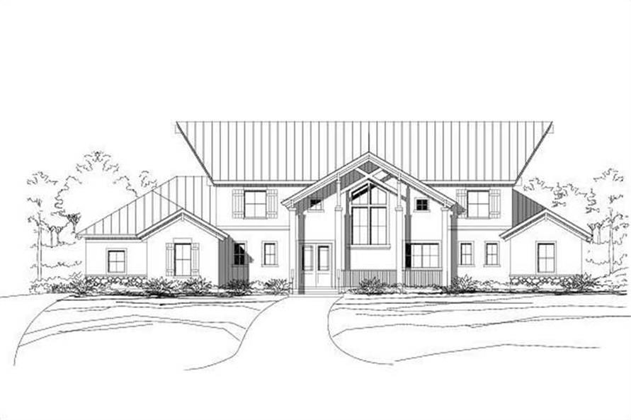 Main image for house plan # 15526