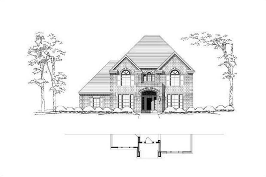Main image for house plan # 19699