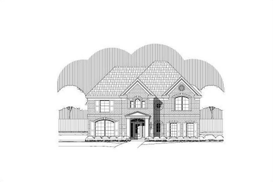 Main image for house plan # 19681