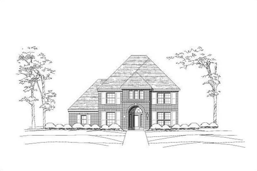 Main image for house plan # 19697
