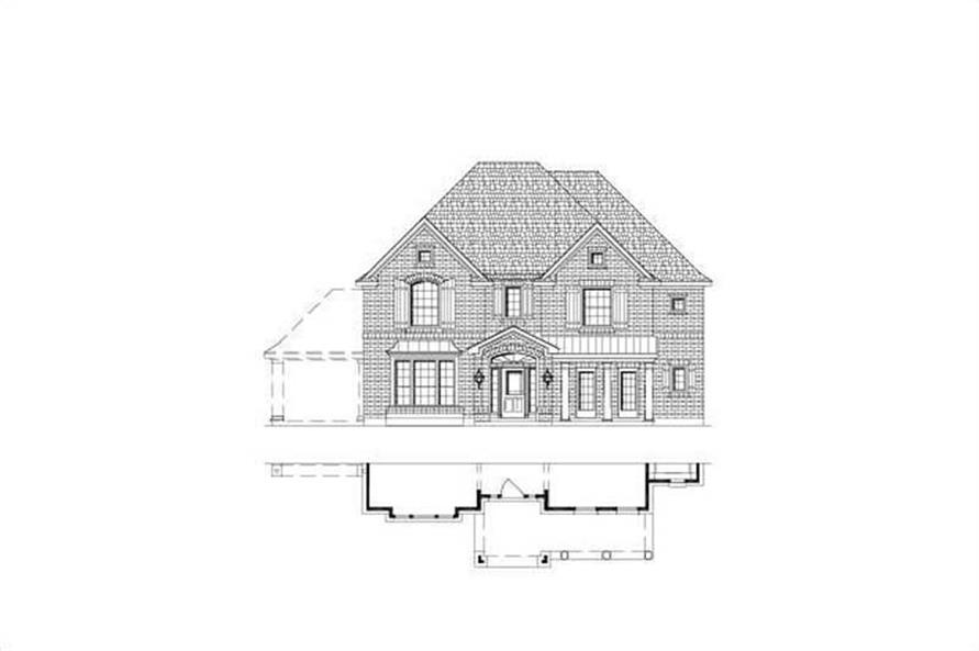 Main image for house plan # 15486