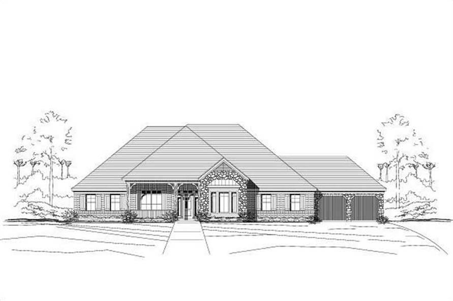 Main image for house plan # 15450