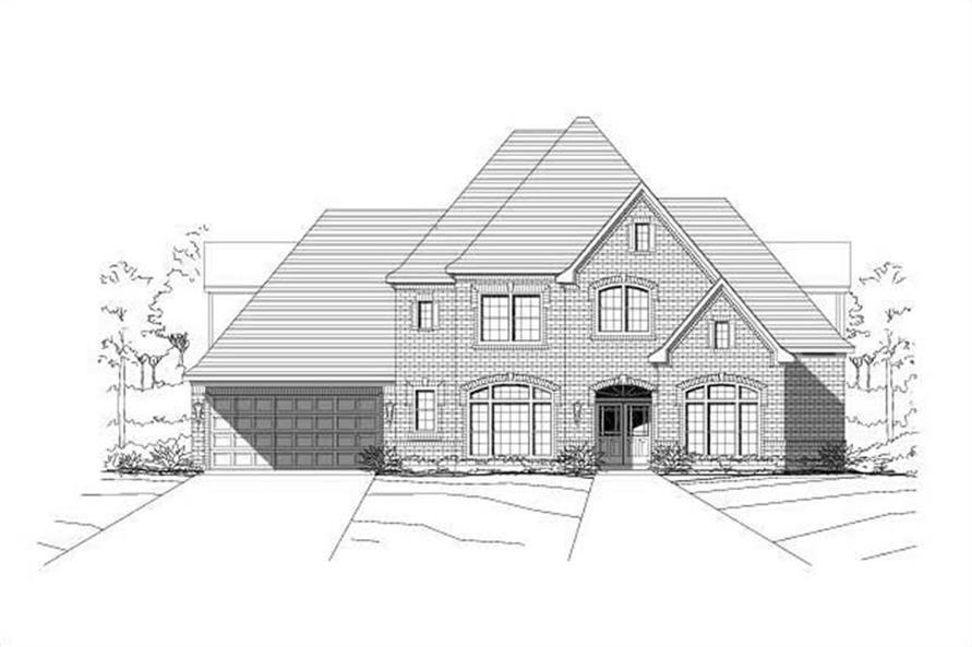 Main image for house plan # 15457