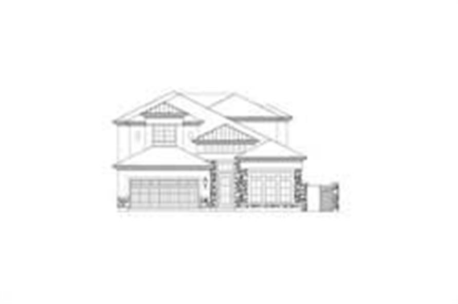 Main image for house plan # 15793
