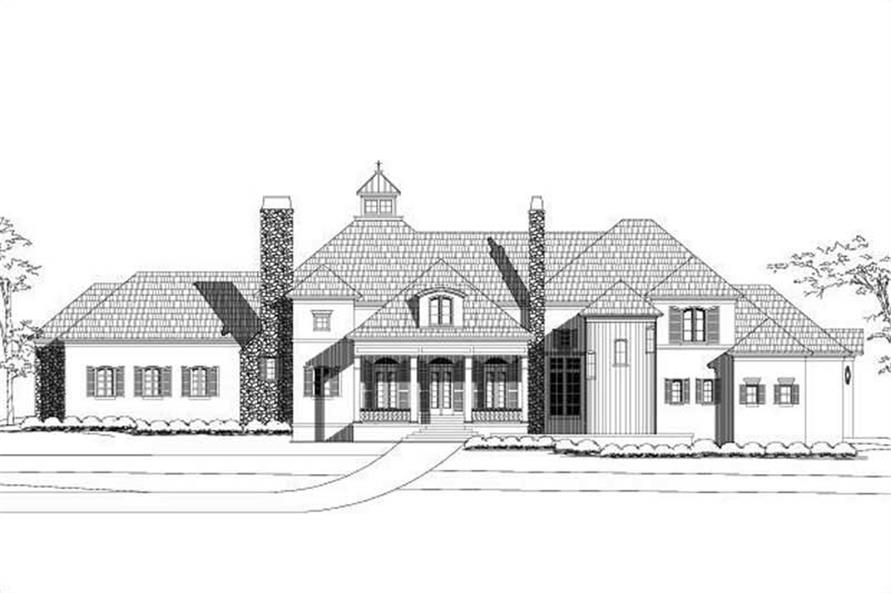 Main image for house plan # 19412