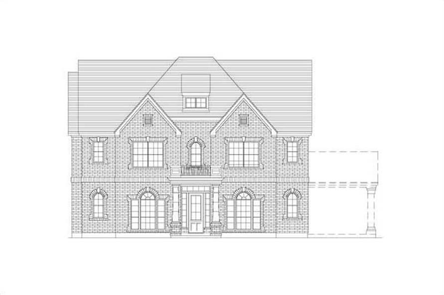 Main image for house plan # 15736