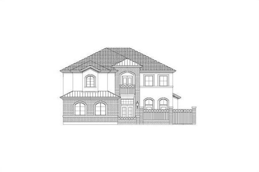 Main image for house plan # 15806