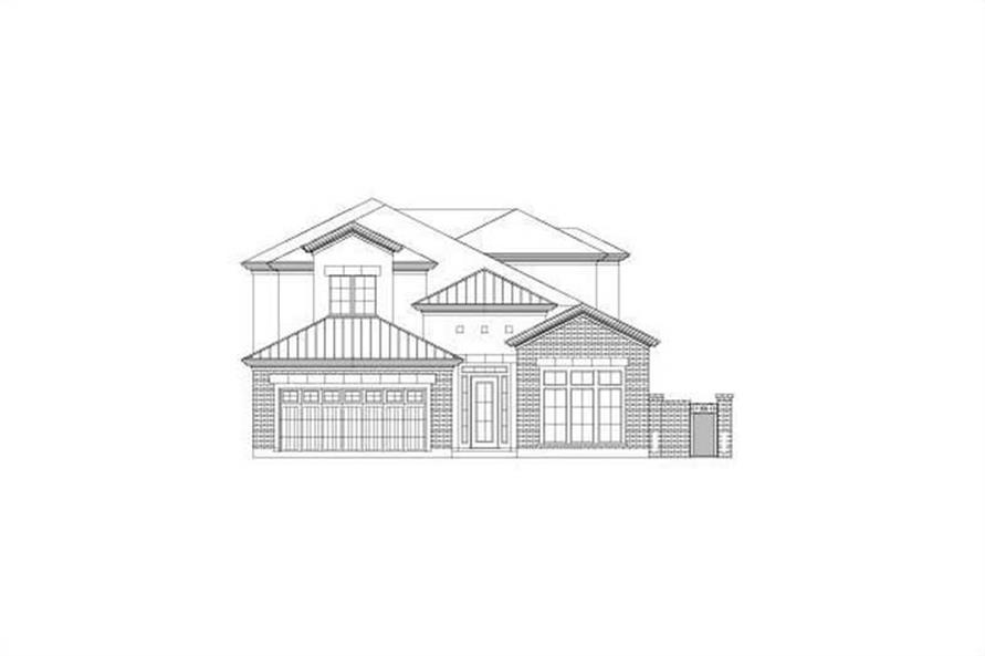 Main image for house plan # 15797
