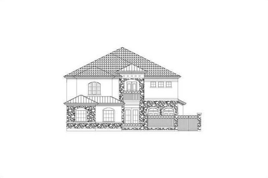 Main image for house plan # 15810