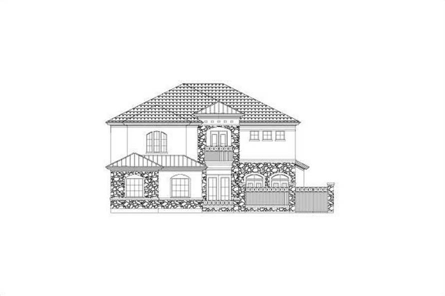 Main image for house plan # 15802