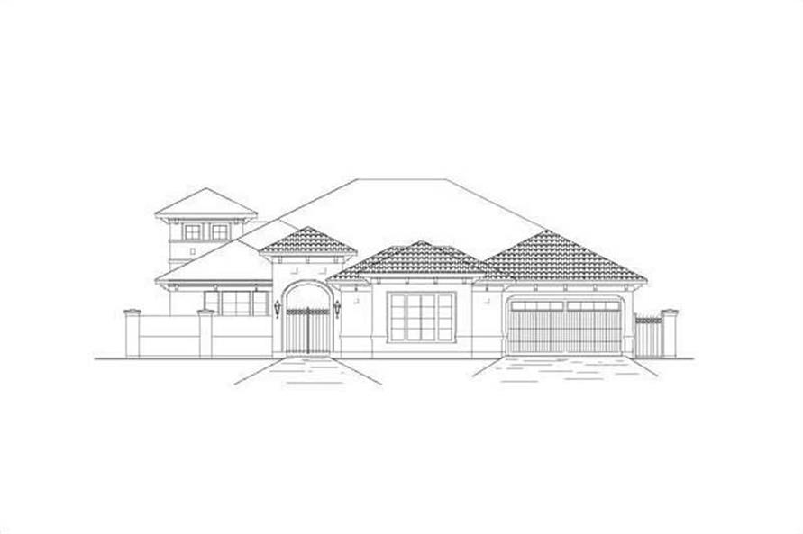 Main image for house plan # 15652