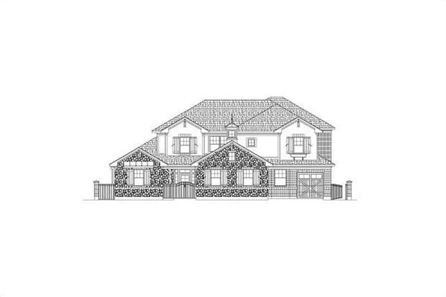 Main image for house plan # 15707