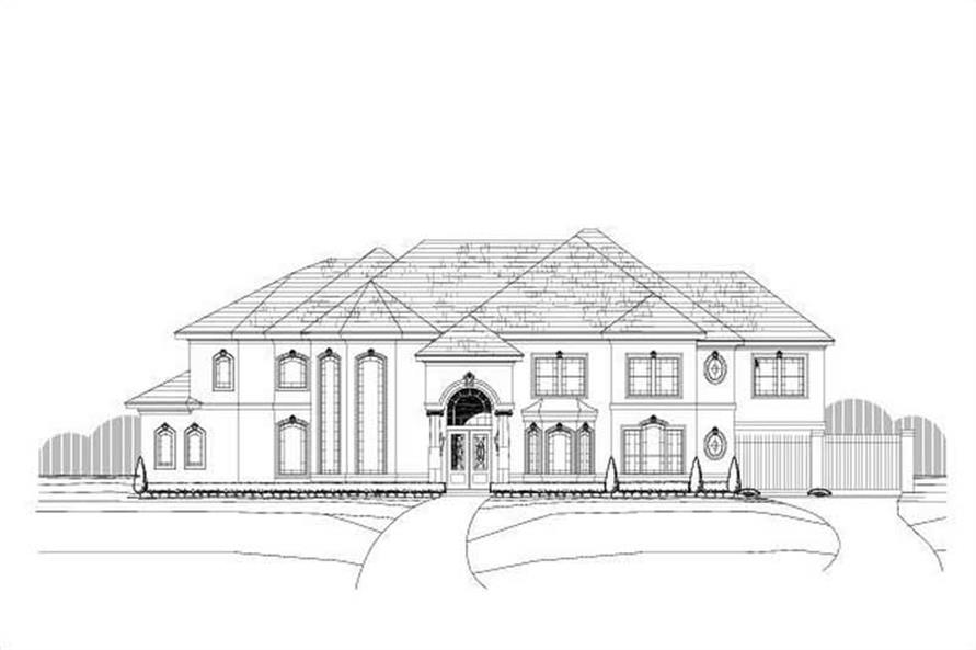 Main image for luxury house plans # 19736