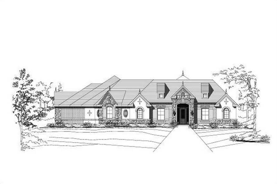 Main image for house plan # 15218
