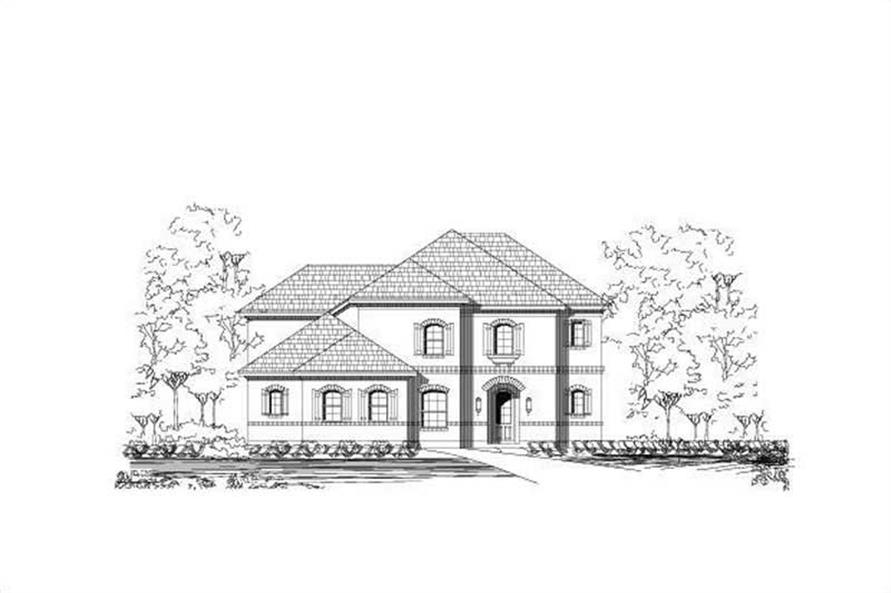 Main image for house plan # 15409