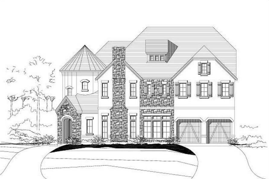 Main image for house plan # 15408