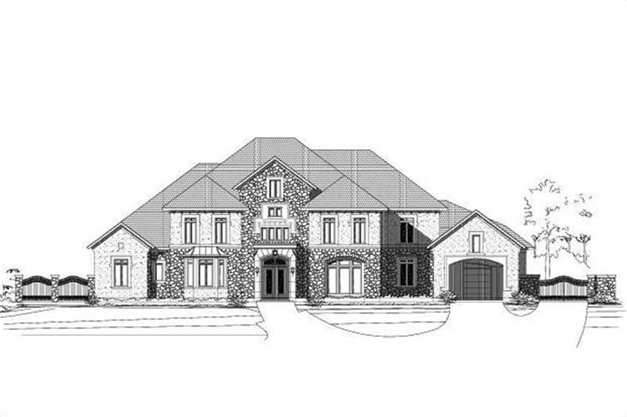 Main image for house plan # 15684