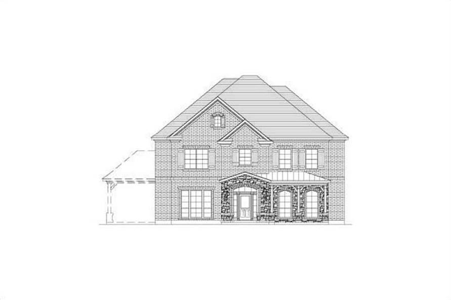 Main image for house plan # 15742