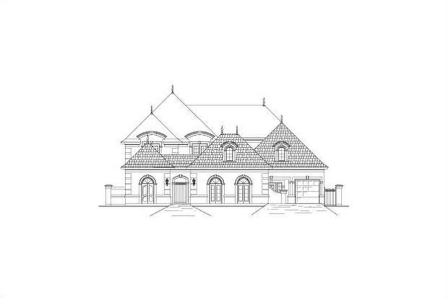Main image for house plan # 15731