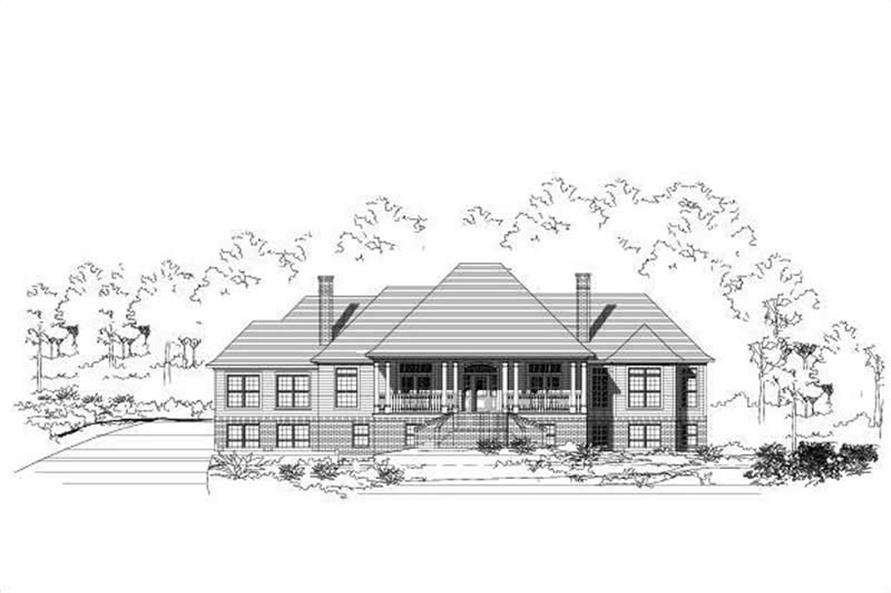 Main image for house plan # 19562