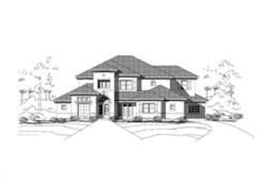 Main image for house plan # 15560
