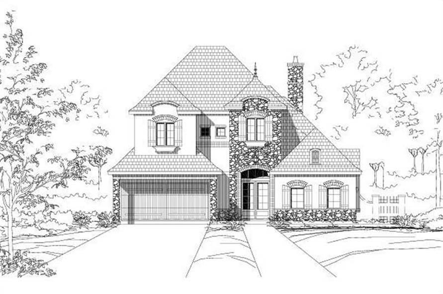 Main image for house plan # 15182