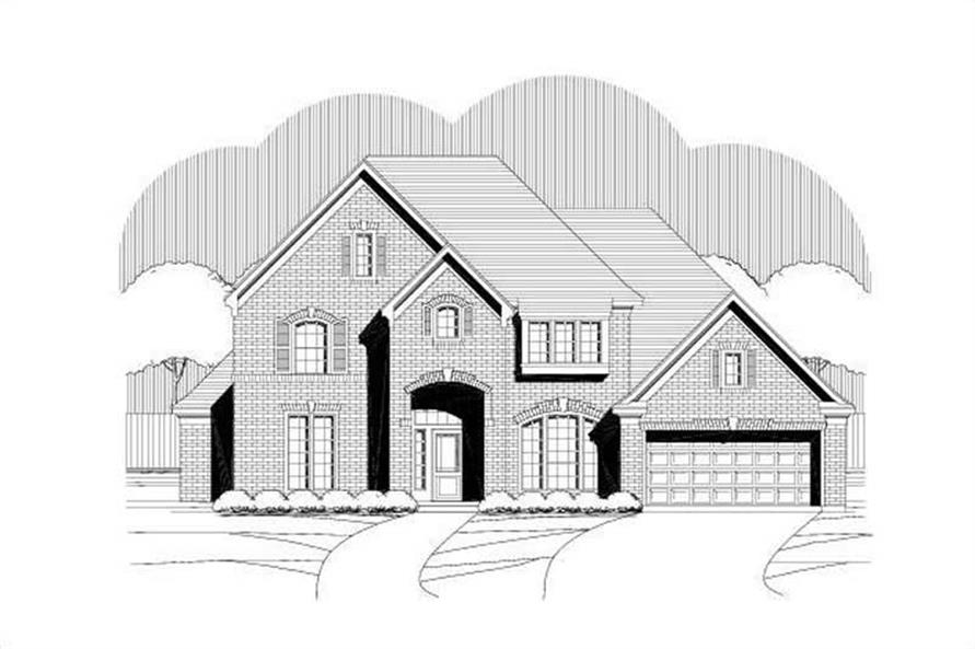 Main image for house plan # 15192