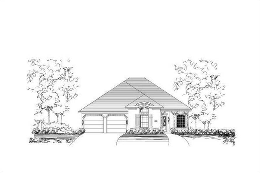 Main image for house plan # 15411