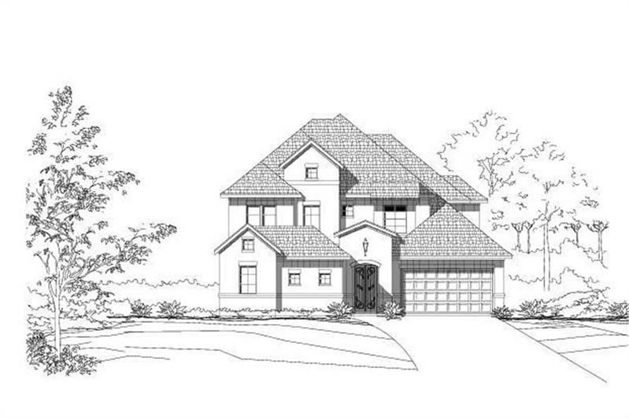 Main image for house plan # 15499