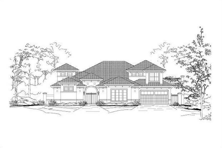 Main image for house plan # 15494