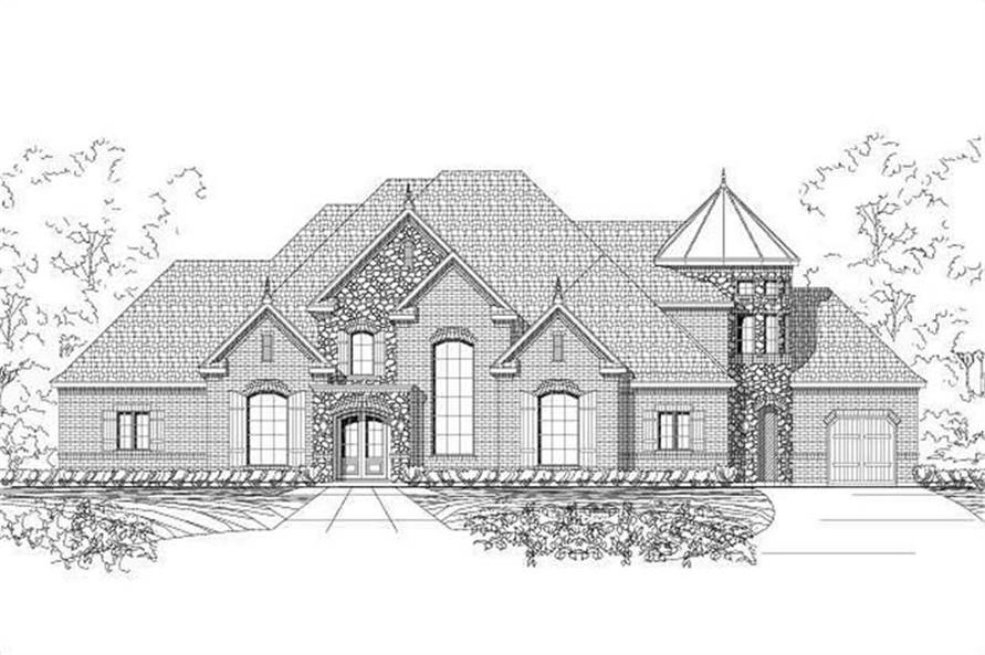 Main image for luxury house plan # 19560