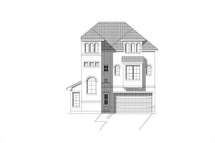 Main image for house plan # 19516