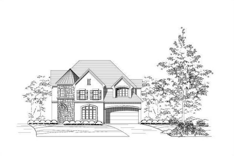 Main image for house plan # 15456